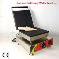 Электрический Вафля рожок для мороженого 25x25 см квадратная хрустящая вафельница 1500 Вт 220 В 110 В для домашнего ресторана кафетерий