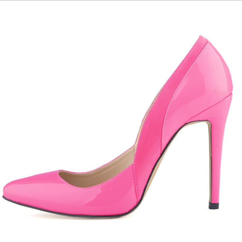 Red Bottom Pointed Toe High Heels 6 Colors Big Size Women Pumps Sexy Shoes Woman 2017 Brand New Design Wedding Party Shoes w863 sexy pointed toe high heels women pumps shoes new spring brand design ladies wedding shoes summer dress pumps size 35 42 302 1pa