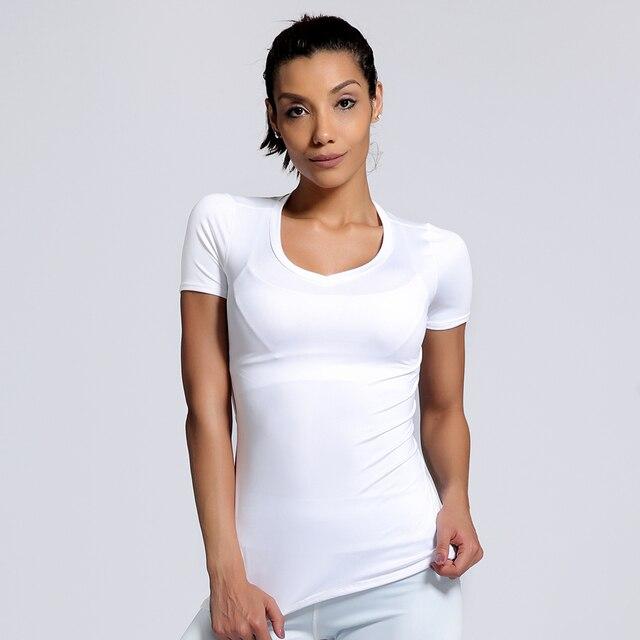 122d3a149 € 10.72 |MWBAY 2017 Nouveau t shirt blanc Et Serré adapté pour Femmes  Simple Confortable Solide Couleur Femme à manches Courtes de Split Sk dans  ...