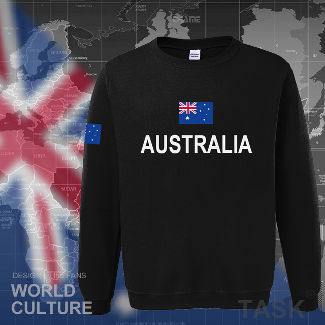 Commonwealth of Australia hoodie men sweatshirt sweat new streetwear clothing jerseys tracksuit 2017 nation Australians flag AU 1