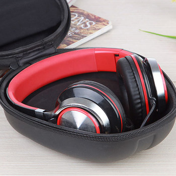 Portable Shockproof Headphone Bag Earphone Case Headset Carry Pouch Storage Bag Hard Box Accessories For iphone Xiaomi Headphone