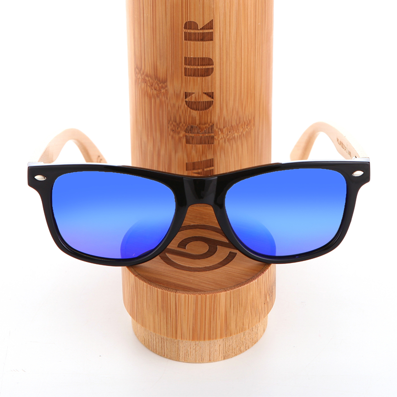 2c12d9cb84 BARCUR Wood Sunglasses PC Frame Handmade Bamboo Sunglasses Men Wooden Sun  glasses for Women Porized Oculos de sol masculino