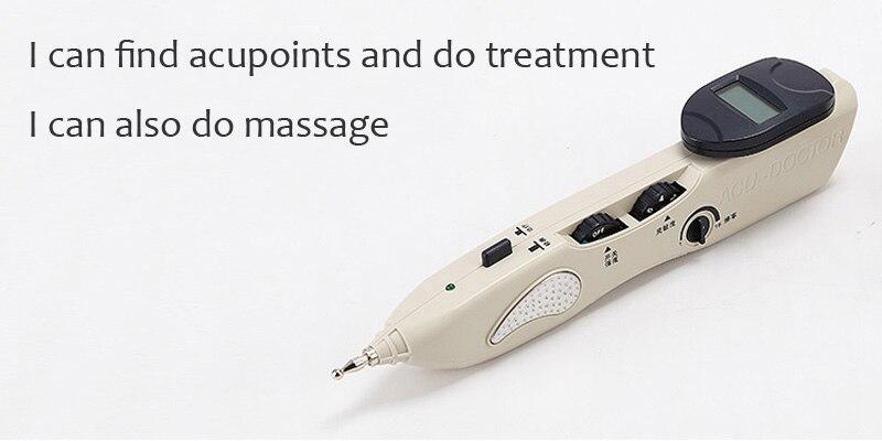 Nuova versione elettronica di agopuntura terapia di massaggio dei punti di agopuntura detector con meridiano penna automatica Manuale Inglese Dell'utente 2016-in Massaggi e relax da Bellezza e salute su  Gruppo 3