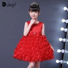 Summer Girl Princess Tutu Wedding Dress Elegant Party Ball Gowns for Girls New Fashion Costume