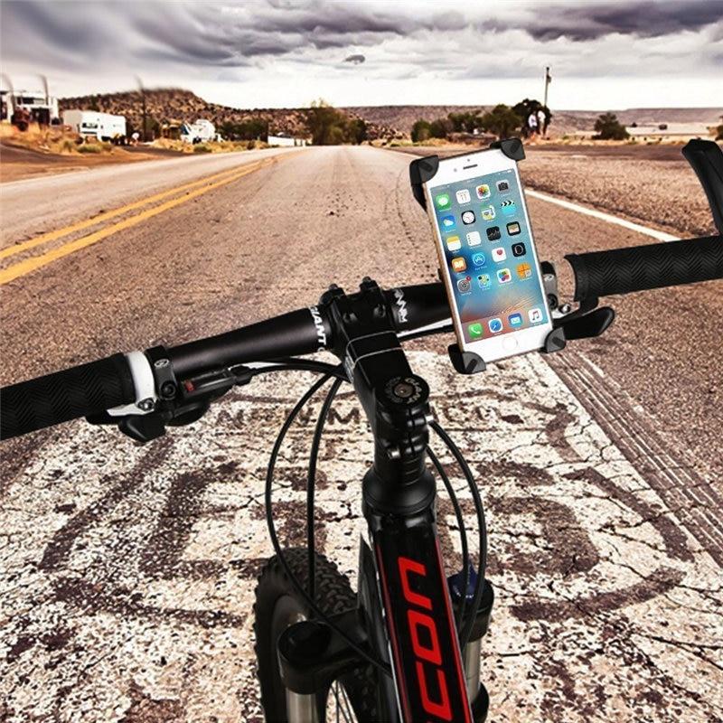 Universal 360 teléfono motocicleta de la bicicleta del sostenedor del montaje de