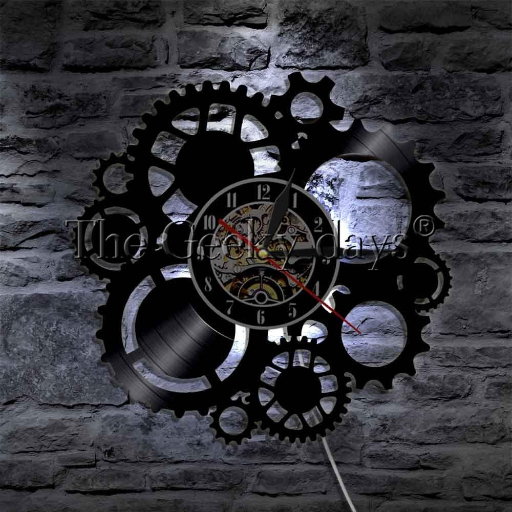 1 piece steampunk levou parede luz 02