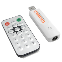 Digital Satellite DVB T2 USB TV Stick Tuner TV Receiver DVB T2/T/C/FM/Analog with Antenna Remote control for Russia Europe PC