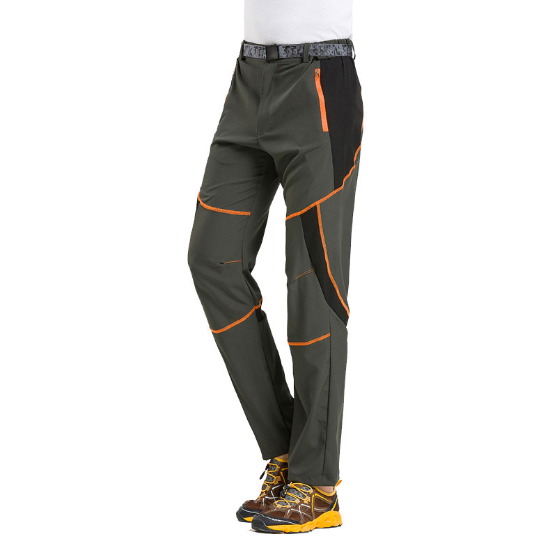 New Mens Quick Dry Sun Protective Elastic Trekking Camping Trousers Hiking Climbing Outdoor Pants Men Fishing Pantalones Hombre