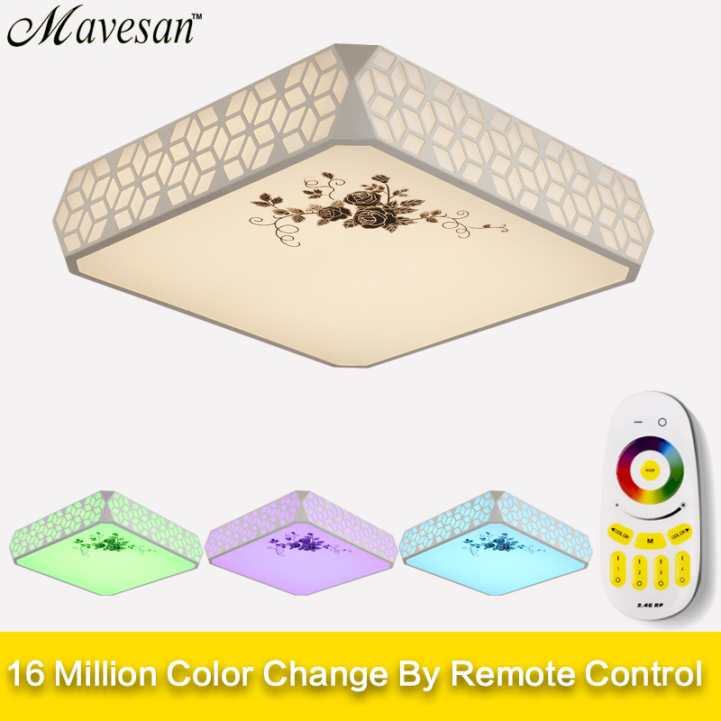 New Ceiling Lights Indoor Lighting For Living Room Luminarias Para Sala Ceiling Fixtures Bedroom lighting With Remote Control