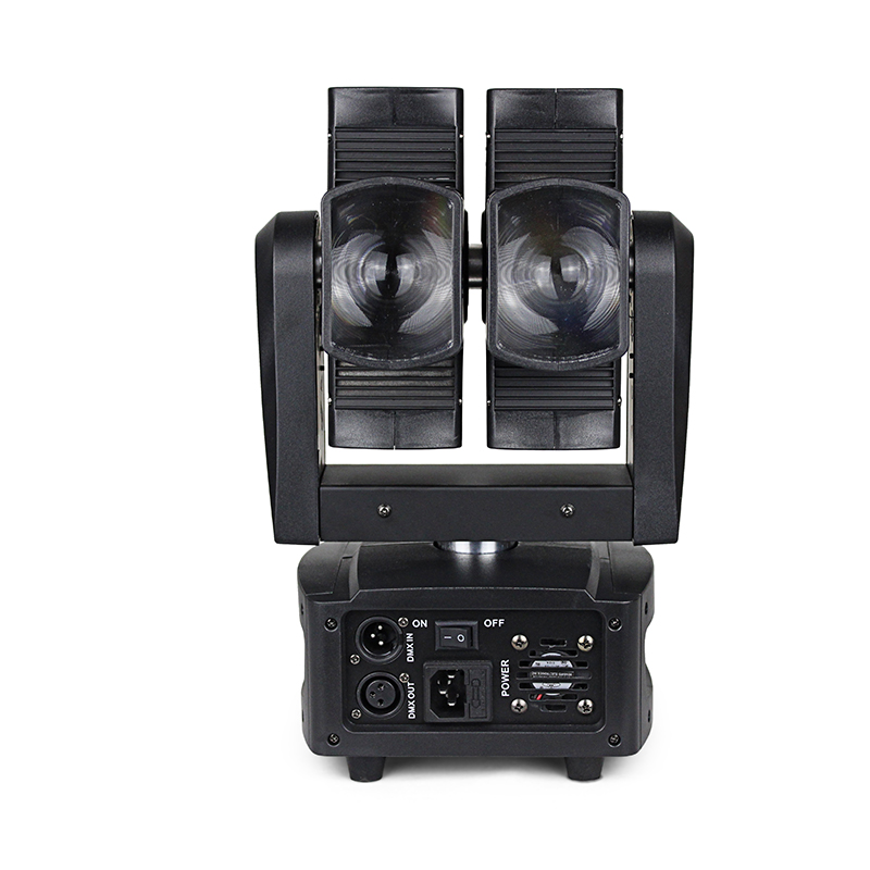 LED Moving Head Light Hot Wheels Light With 8x10W RGBW 4 In1 Double Axle Double Wheel For Disco Stage Shows Party Shows