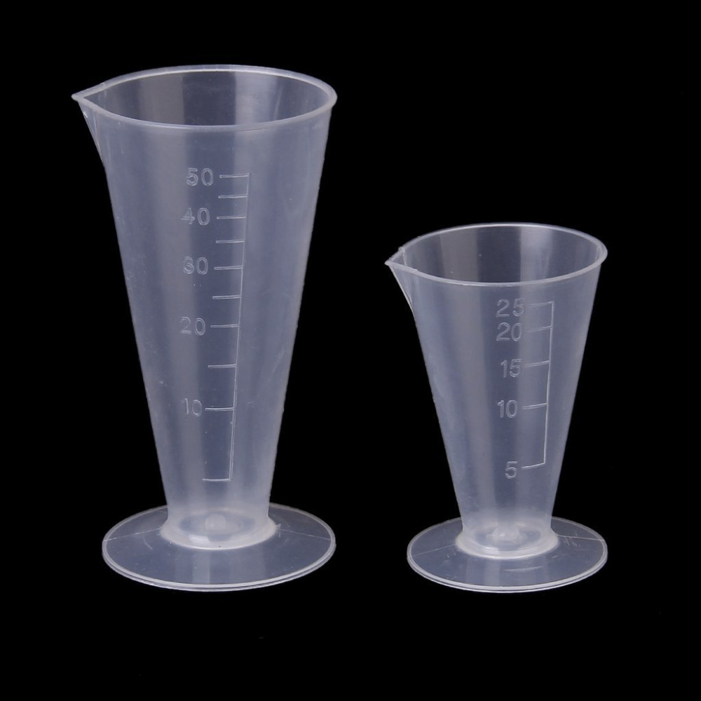 Plastic Measuring Tubes For Electronic Devices : Measurement beaker measuring cup