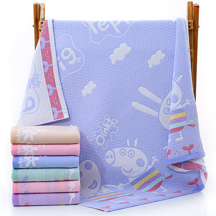 Muslin Cotton Baby Swaddle Blanket 3 Layers Gauze Newborn Wrap Gauze Children Blankets Infant Soft Baby Bath Towel 110*110cm