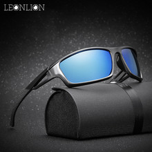 LeonLion New Polarized Oculos De Sol Masculino Brand Designer Classic Vintage Outdoor Driving Men Sunglasses UV400 Sun Glasses