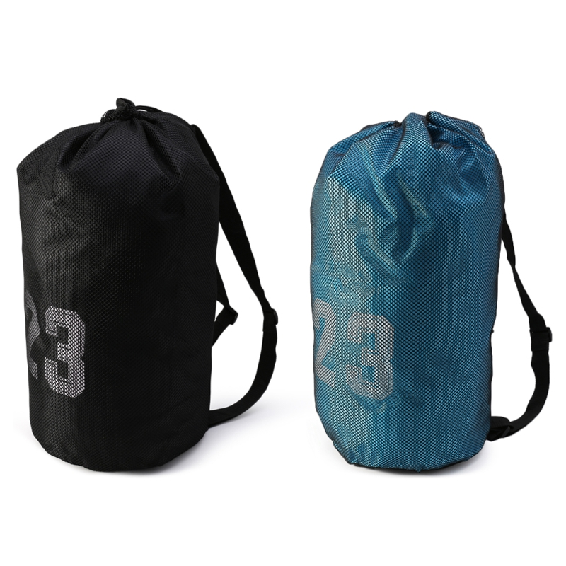 1 Pc Basketball Bags For Balls Soccer Drawstring Fitness Outdoor Basketball Backpack For Fast Shipping