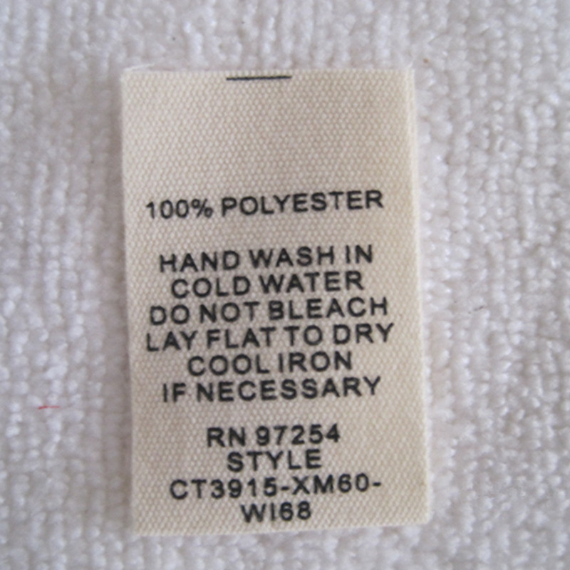 cotton polyester care instructions