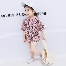 Комплект одежды для девочек летняя рубашка с коротким рукавом