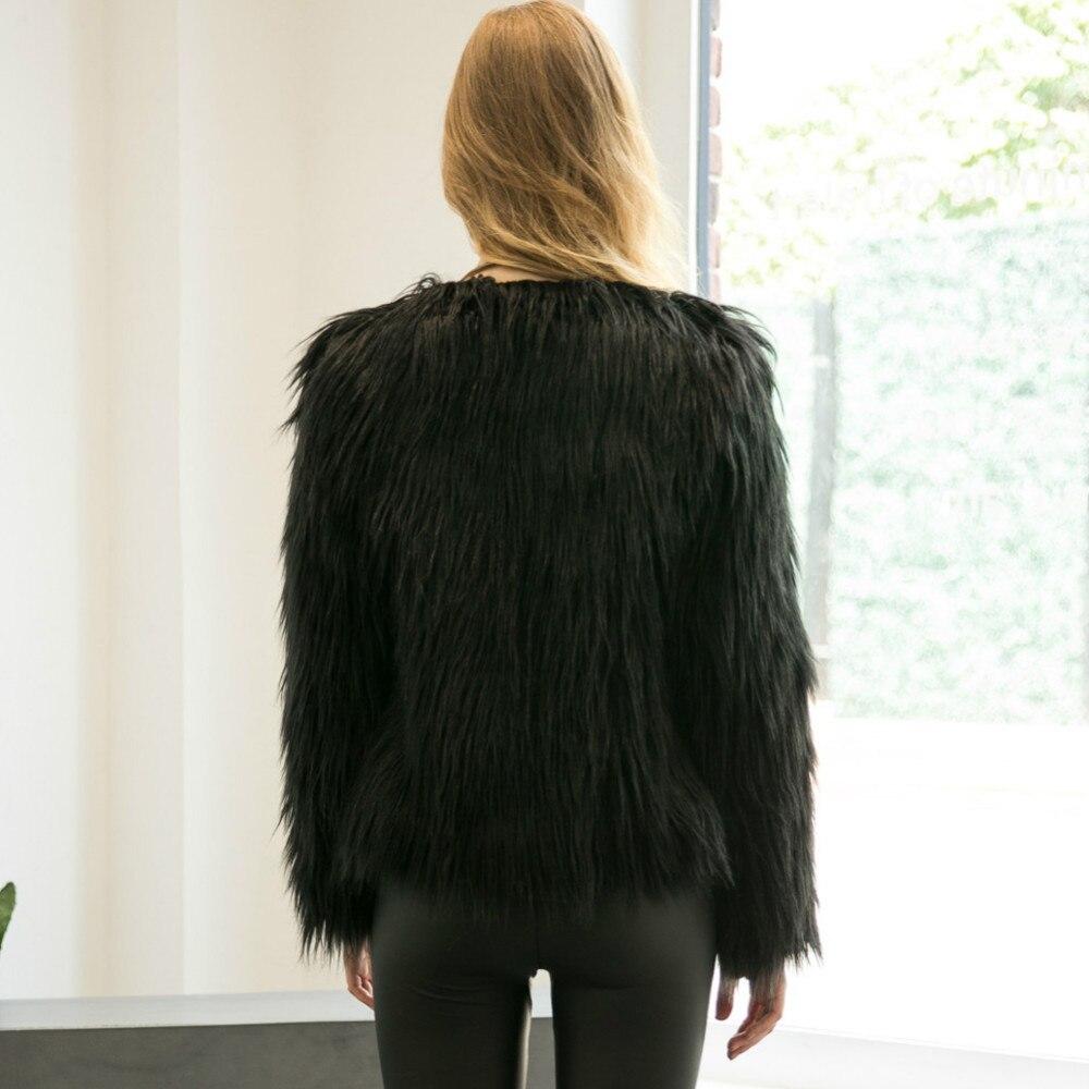 Chic Soft Faux Fur Coat 11