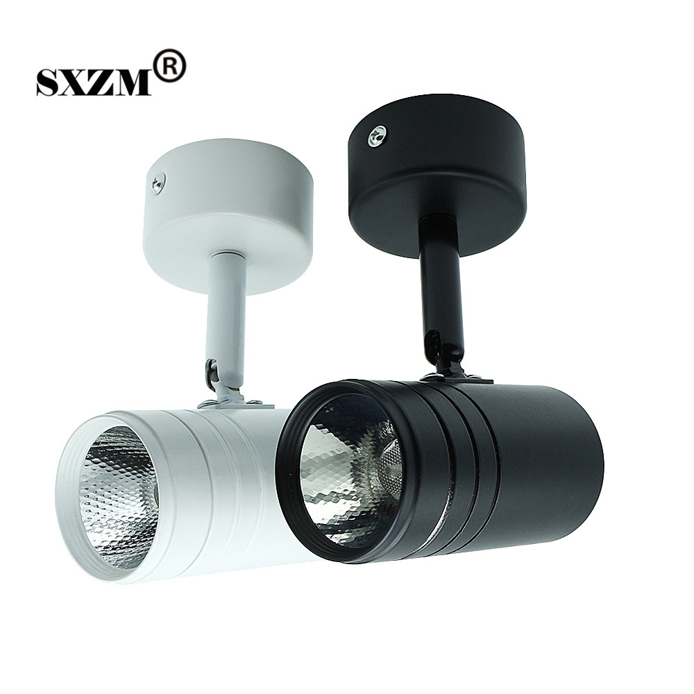 SXZM 10W led lamp high brightness AC85-265V indoor <font><b>light</b></font> COB downlight Surface mounted good quality for Supermarket,Mall,Foyer