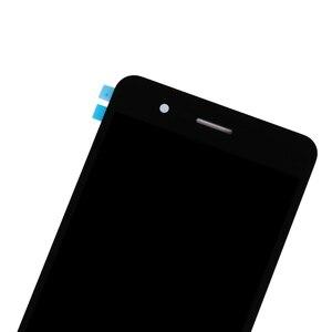 Image 2 - Yüksek kaliteli ZTE Blade A510 LCD ekran cam dokunmatik ekranlı sayısallaştırıcı grup ZTE Blade A510 yedek telefon parçaları