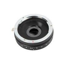 Строение в Aperture адаптер для объектива Canon EOS EF объектив Микро 4/3 M4/3 адаптер E-P3 GF2 G3