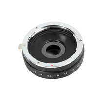 Build in Aperture Lens Adapter for Canon EOS EF Lens to Micro 4/3 M4/3 Mount Adapter E-P3 GF2 G3