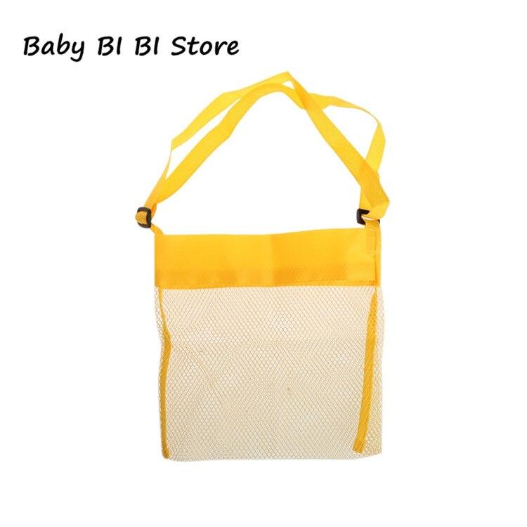 Портативная детская пляжная сумка из песка, коллекция игрушек для переноски - Цвет: Цвет: желтый