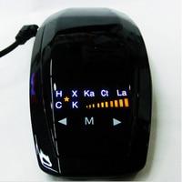 VB 360 Degrees Full Band Car Best Anti Speed Radar Detector For Russian English
