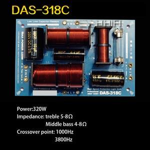 Image 3 - 1 PCS HiFi Audio Speaker 3 Unit Audio Frequency Divider Treble Midrange Bass 3 Way Crossover Filters 160W 180W 200W 320W