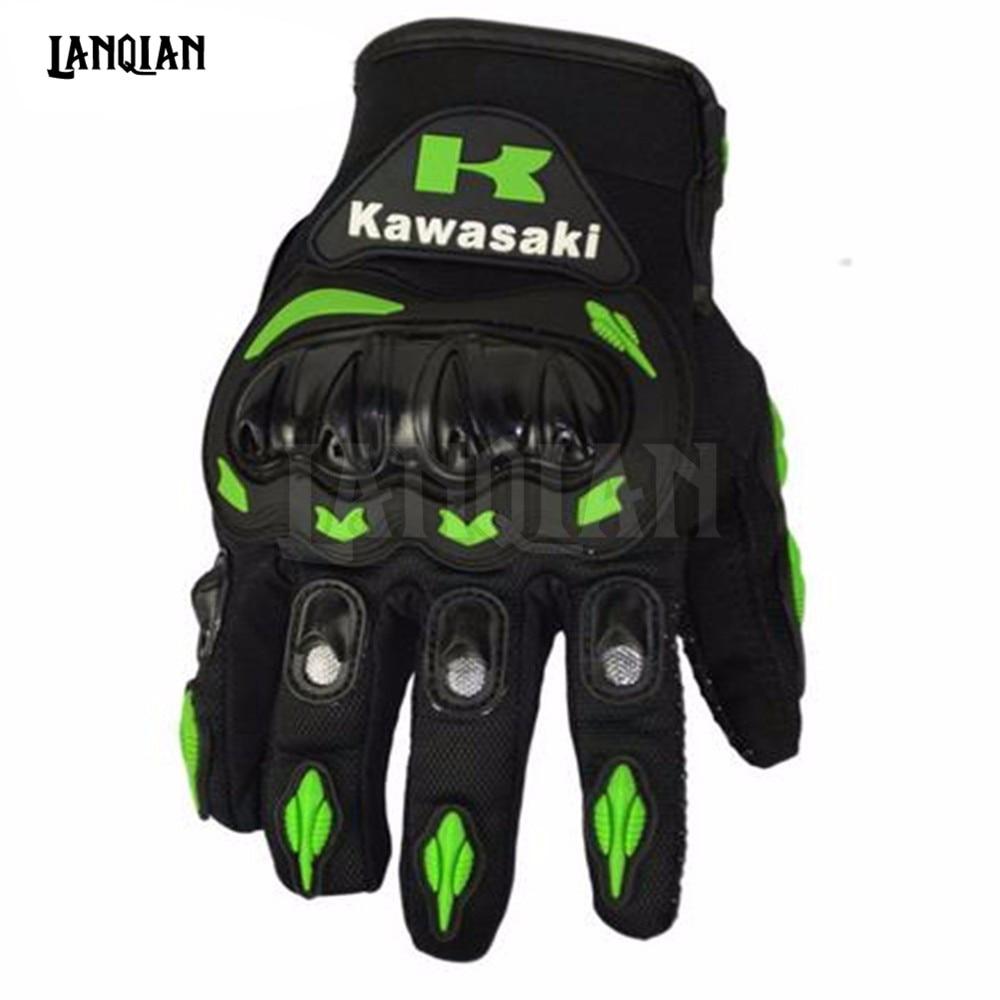 Motorcycle gloves xl - Motorcycle Gloves Wome Man Full Finger Protect Gloves Motocross Guanti Moto For Kawasaki Ninja Monster Energy