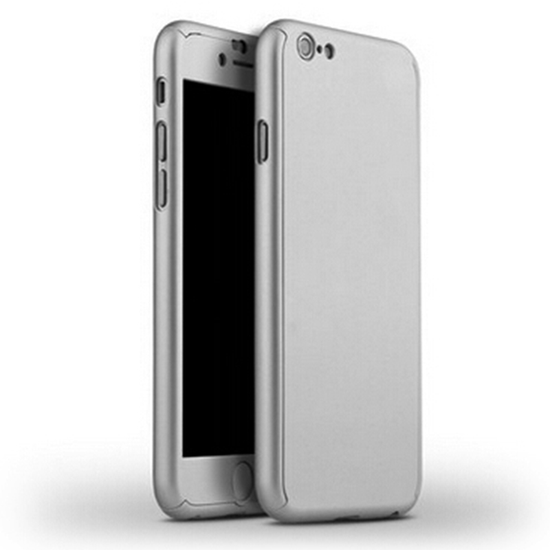 fc5e7e493ffa44 2016 New Hybrid 360 Case Hard Ultra thin Capa Cover For fundas iPhone 6 6S  Plus 7 7 Plus Phone Case + Tempered Glass-in Fitted Cases from Cellphones  ...