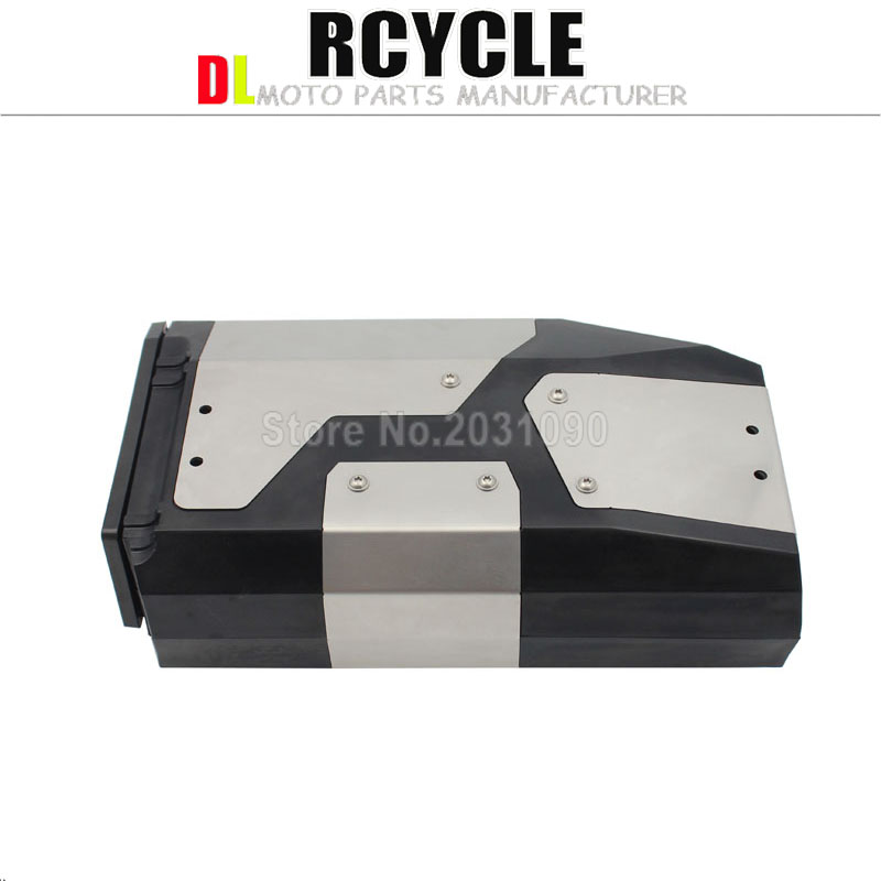 New Arrival! Tool Box For BMW r1250gs r1200gs lc & adv Adventure 2002 2008 2018 for BMW r 1200 gs Left Side Bracket Aluminum box-in Covers & Ornamental Mouldings from Automobiles & Motorcycles    3