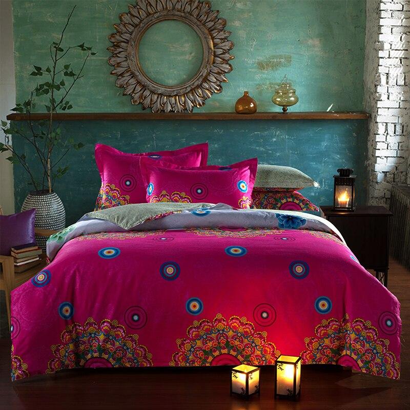 Funda Nordica Bohemian Bedding Set Boho Style Bedclothes Moroccan ...