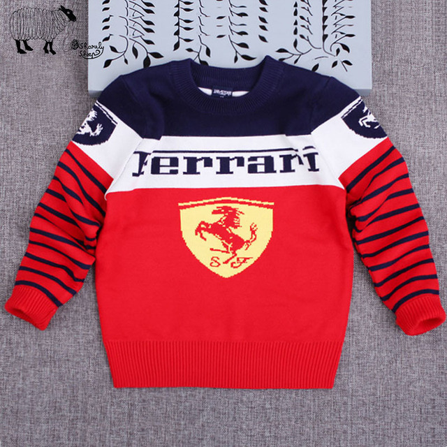 Children's Ferrari Sweater (3 Colors)
