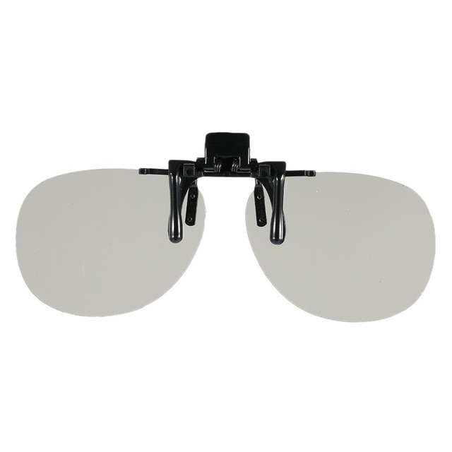 PH0004 3D Glasses Clip Passive Circular Polarized for Polarized TV Real D 3D Cinemas for SHARP SAMSUNG Panasonic Short-sighted