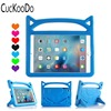 CucKooDo Kids Light Weight Shock Proof Case With Handle Stand Case For IPad 9 7 Inch