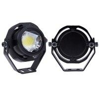 HOT Sale 2PCS Led Car Fog Lamp Super Bright 1000LM Waterproof DRL Eagle Eye Light External