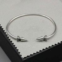 Japan And South Korea Nail Opening Simple Personality Creative Hand Ring Right Dragon Open Ended Nail Bangle Female Jewelry