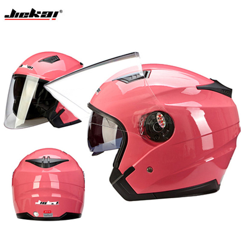 2017 free shipping high quality Genuine JieKai516 motorcycle helmet unisex Scooter motos helmets Casco Capacete with dual lens