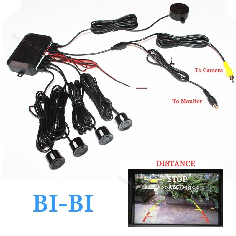 Dual Core CPU Car Video Parking Sensor Reverse Backup Radar Alarm System Show distance on Display automobile Sensor Auto System