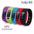 Nova Moda UP2 Inteligente Pulseira Bluetooth Pulseira Inteligente de Monitoramento de Saúde Esportes de Natação