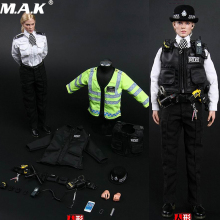 1/6 MMS9005 UK Scotland Yard London Policewoman Action Figure Toys for Fans Coreplay Collection Gifts