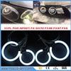 Free Ship For INFINITI FX35 FX45 2003 2004 2005 2006 2007 2008 Excellent Ultra bright illumination CCFL Angel Eyes kit Halo Ring