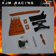 1/5 rc car racing parts, Alloy front fender/bumper for baja 5b