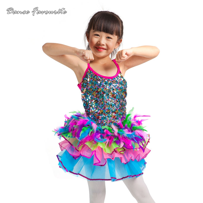 two in one child ballet tutu, ballet costumes, Jazz/tap dance costumes ballerina dance tutu