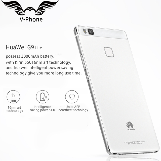Original HuaWei G9 Lite 4G LTE Mobile Phone MSM8952 Octa Core 3GB RAM 16GB ROM Android 6.0 5.2″ FHD 1920X1080 13MP Fingerprint