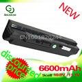 Golooloo 6600 mah negro batería del ordenador portátil para msi u90 u100 u200 u210 u230 bty-s11 bty-s12 para lg x110 para medion akoya mini e1210