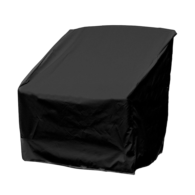Outdoor Garden Party Black Polyester Table Chair Dust Cover Weatherproof Patio Furniture Rain Prevention Protector Bag FV001