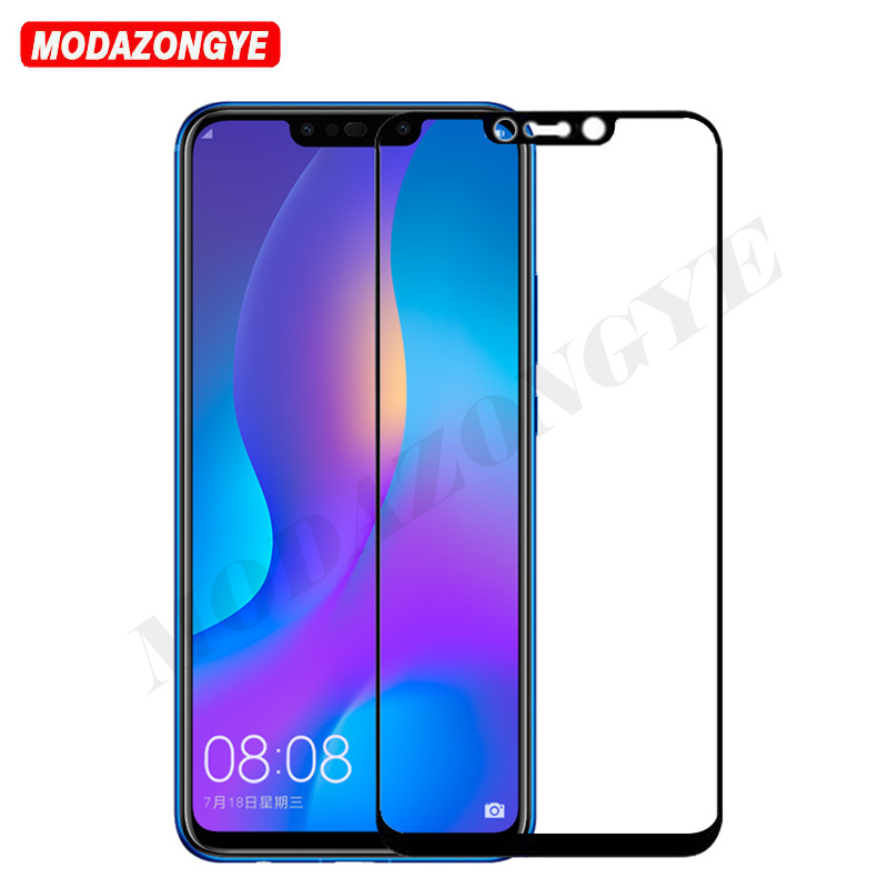 Huawei P Smart Plus Glass 6.3 Screen Protector Full Cover Tempered Glass Huawei P Smart Plus INE-LX1 INE-LX2 Psmart Plus Glass