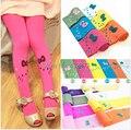 Free shipping new 2015 Baby girl child kids female pantyhose stocking velvet hello kitty cat dance legging 11 colors