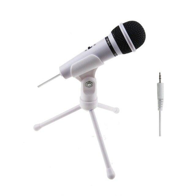 Профессиональный Конденсаторный Микрофон Микрофон Студия Аудио Запись Звука + Шок Гора шумной отмена Микрофон для Компьютера ПК # И ДР.